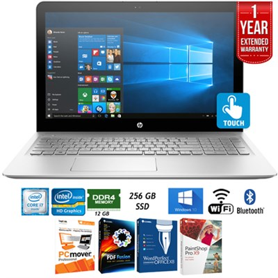 15-as020nr ENVY Intel i7 15.6` Notebook Laptop+Extended Warranty Pack