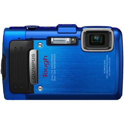 TG-830 iHS STYLUS Tough 16 MP 1080p HD Digital Camera - Blue