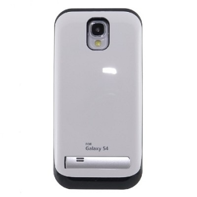 Battery Case for Galaxy S4 - Silver