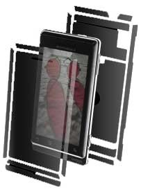 invisibleSHIELD for Motorola Droid/Milestone Full Body