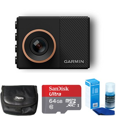 Dash Cam 55 with 64GB Ultra MicroSDXC Memory Card Accessory Bundle