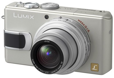 DMC-LX1S (Silver) 8.4 Megapixel Digital Camera with 4x Optical Zoom - REFURBISHE