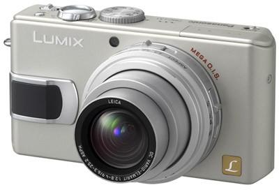 DMC-LX1S (Silver) 8.4 Megapixel Digital Camera with 4x Optical Zoom - REFURBISHE