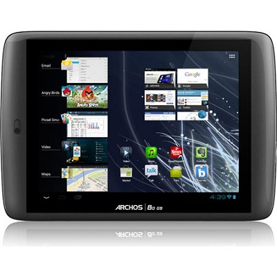 80 G9 250GB 8` Tablet with Android ICS 4.0, MAP 4 Smart Multi-Core Processor