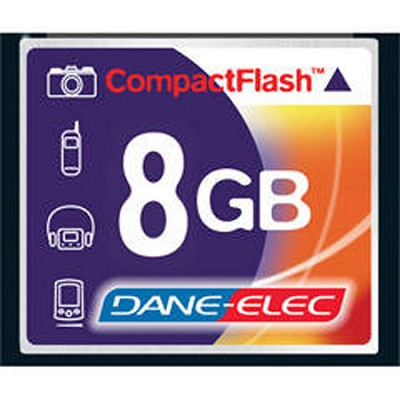 8GB Compact Flash Memory Card