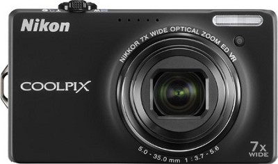 COOLPIX S6000 14.2 Megapixel Digital Camera (Black)