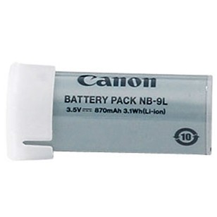 NB-9L Battery Pack for Canon ELPH 510 HS, ELPH 520 HS, & SD4500IS Digital Camera