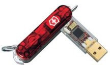 Flash Flight Swiss Army Tool with Removable 4GB USB Flashdrive - 5301FG4