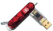 Flash Flight Swiss Army Tool with Removable 4GB USB Flashdrive - 5301FG4