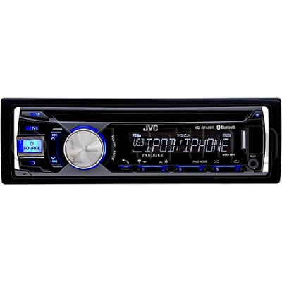 Bluetooth CD Receiver with AUX/USB Inputs (KDR740BT)