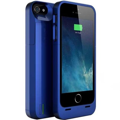 DX-05 Protective Battery Case for iPhone 5/5s - Dodger Blue - OPEN BOX