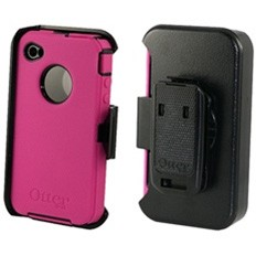 Defender Case for iPhone 4 (Pink/Black)