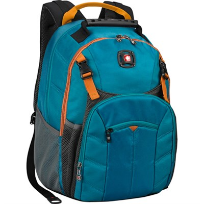 SwissGear Sherpa 16`  Backpack - Teal/Orange