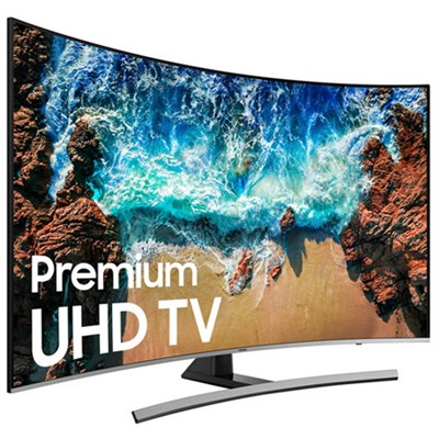 UN65NU8500 65` Class NU8500 Curved Smart 4K UHD TV