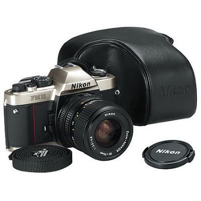 FM-10 KIT 35-70 MF SLR CAMERA with Nikon usa warranty