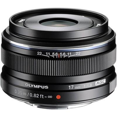 M.Zuiko 17mm f1.8 Lens (Black) - V311050BU000