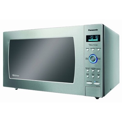 1.6 cu. ft - Microwave oven 1250 W - Stainless Steel