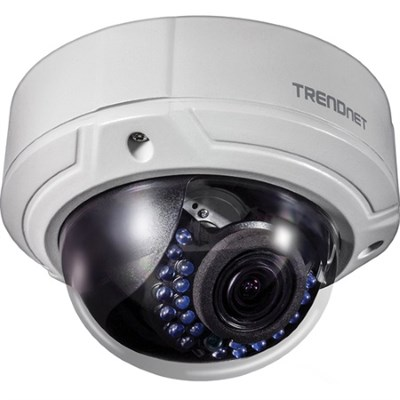 Indoor/Outdoor 2MP 1080p Varifocal PoE IR Dome Network Camera (TV-IP341PI)