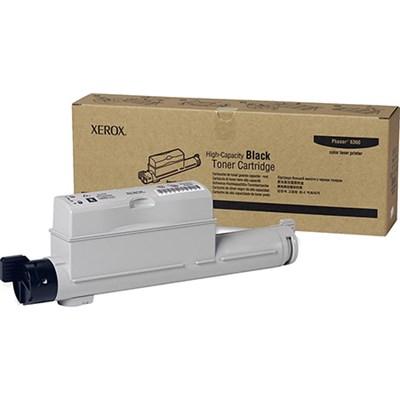 Black High Capacity Toner Cartridge for Phaser 6360 - 106R01221
