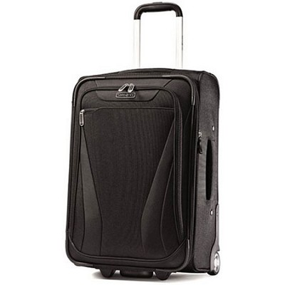 Aspire Gr8 21 Exp. Upright Suitcase - Black