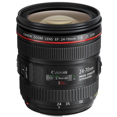 EF 24-70mm F/4L IS USM Standard Zoom Lens - OPEN BOX