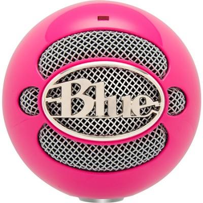 Snowball USB Microphone - Hot Pink