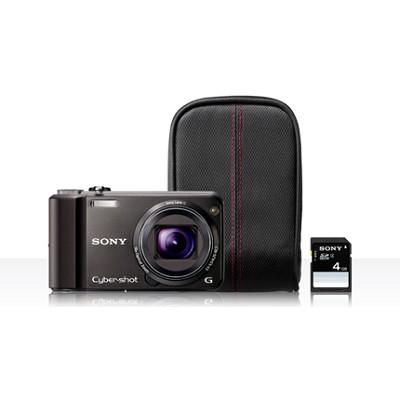 Cyber-shot DSC-H70 Black Digital Camera Bundle