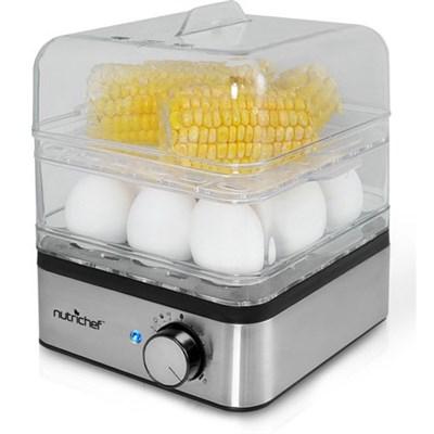 PKEC12 Egg Cooker and Vegetable Food Steamer