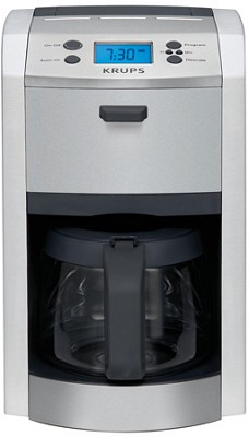 KM8105 12-Cup Die Cast Coffee Machine