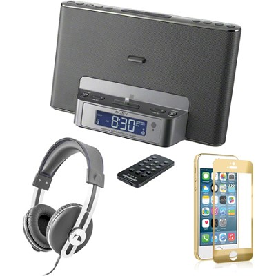 ICFCS15iPSILN iPhone Speaker Dock Audio Bundle