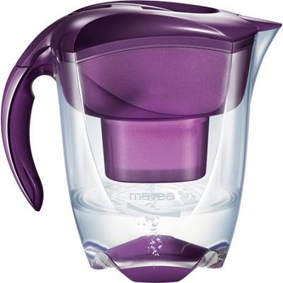 Elemaris XL Water Filtration Pitcher - Eggplant Purple