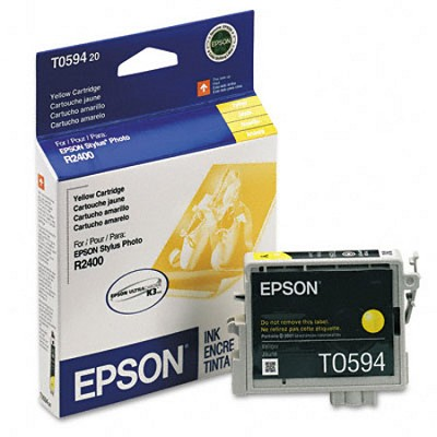 Yellow Ink Cartridge for the R2400 Photo Printer