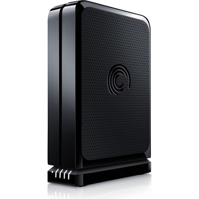 FreeAgent GoFlex Desk 2 TB USB 2.0 External Hard Drive STAC2000100 (Black)