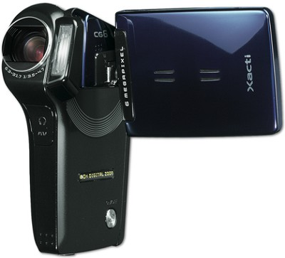 Xacti CG6-BL Digital Camcorder