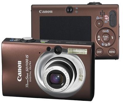 Powershot SD1100 Digital Camera (Brown) - REFURBISHED