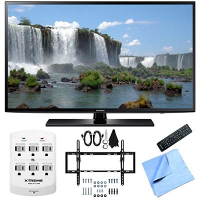 UN50J6200 - 50-Inch Full HD 1080p 120hz LED HDTV Flat & Tilt Wall Mount Bundle