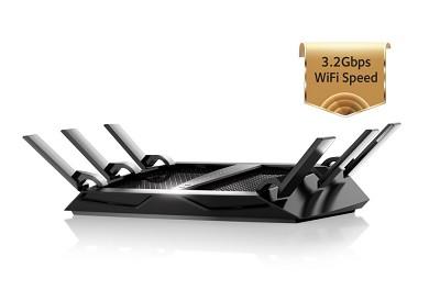 C3200 Nighthawk X6 Tri-Band WiFi Router (R8000)