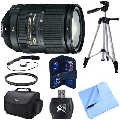 AF-S DX NIKKOR 18-300mm f/3.5-5.6G ED VR Zoom Lens Exclusive Pro Bundle