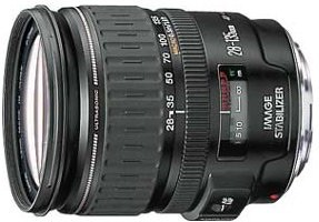 EF 28-135mm F/3.5-5.6 USM Image Stabilizer Lens - OPEN BOX