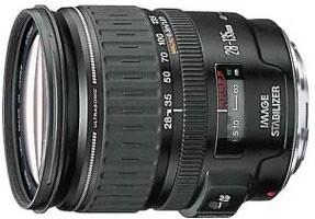 EF 28-135mm F/3.5-5.6 USM Image Stabilizer Lens - OPEN BOX