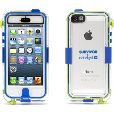 GB36203 Survivor and Catalyst Waterproof Case for iPhone 5/5s - Blue