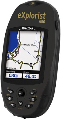 eXplorist 600 Rugged Compact Color Handheld GPS Receiver