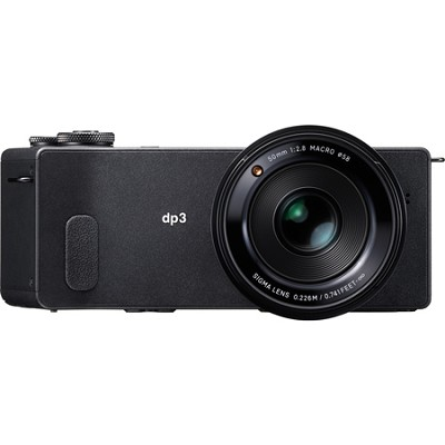 DP3 Quattro Compact Digital Camera 29MP Foveon X3 Quattro Direct Image Sensor