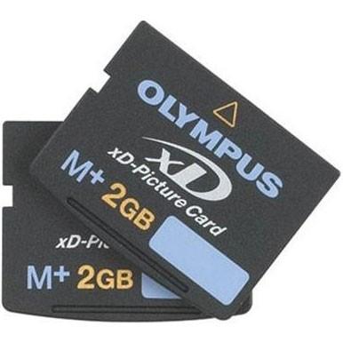 M+ 2Gig xD Memory Card  2 PACK