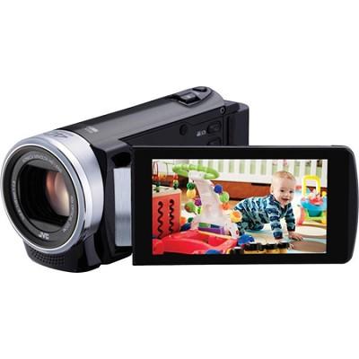 GZ-E200BUS - HD Everio Camcorder f1.8 40x Zoom 3.0` Touchscreen (Black)