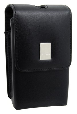 PSC-55 Deluxe Leather Compact Case for  Powershot Elph 520,510 & 500 and similar