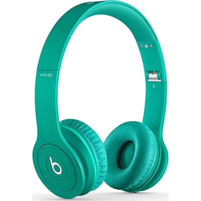 Solo HD On-Ear Headphones with Built-in Mic (Teal) - OPEN BOX