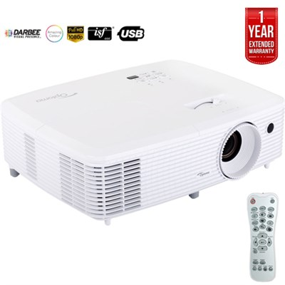 Ultra Home Cinema Projector w/ DarbeeVision Refurbished+1 Year Extended Warranty