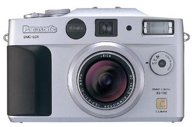 DMC-LC5S 4.0MP Digital Camera - Silver