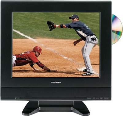 15DLV77 - 15` LCD TV w/ built-in DVD Player